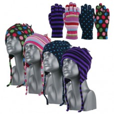 00481   -   SOFT MICROFLEECE HELMET & GLOVE SET