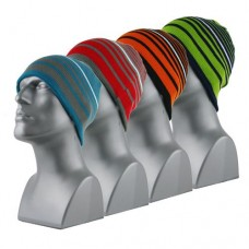 00706   -   REVERSIBLE ACRYLIC KNIT STRIPED BEANIE