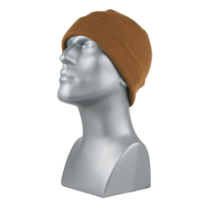 00710  -   WORKWEAR BROWN ACRYLIC KNIT CUFF HAT