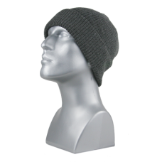 00713   -   ACRYLIC KNIT CUFF HAT   -   CHARCOAL ONLY