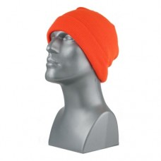 00714   -   BLAZE ORANGE KNIT CUFF HAT