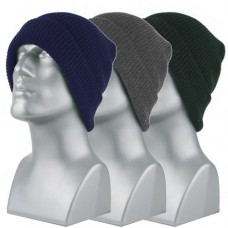 00716   -   ACRYLIC KNIT CUFF HAT   -   ASSORTED