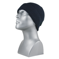 162e1b8fd0e 00718 - ACRYLIC KNIT CUFF HAT - NAVY ONLY