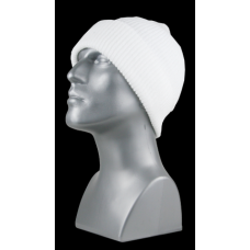 00720   -   ACRYLIC KNIT CUFF HAT   -   WHITE ONLY