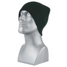 00789   -   ACRYLIC KNIT SUPER-STRETCH BEANIE   -   BLACK ONLY