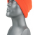 00792   -   BLAZE ORANGE ACRYLIC KNIT SUPER-STRETCH CUFF HAT