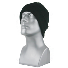 00793   -   ACRYLIC KNIT SUPER-STRETCH CUFF HAT   -   BLACK ONLY