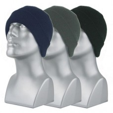 00796   -   ACRYLIC KNIT SUPER-STRETCH CUFF HAT - ASSORTED