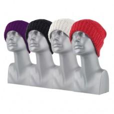 00815   -   CHENILLE RIBBED CUFF HAT