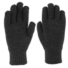 33071   -   ACRYLIC KNIT GLOVE  -   BLACK ONLY