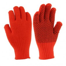 33073   -   BLAZE ORANGE KNIT GRIPPER GLOVE