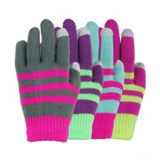 35114   -   TOUCHSCREEN STRIPE STRETCH GLOVE