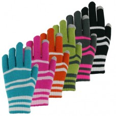 36129   -   TOUCHSCREEN STRIPE STRETCH GLOVE