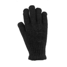 36132   -   CHENILLE RIBBED STRETCH GLOVE  -  BLACK ONLY