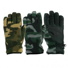 55180  -   CAMO SPORT FLEECE GLOVE
