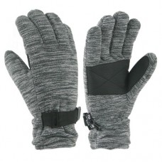 62408   -  MELANGE FLEECE GLOVE  -  CHARCOAL ONLY