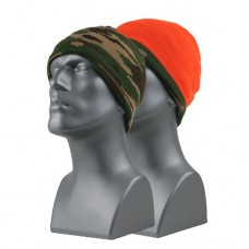 66020   -   BLAZE ORANGE REVERSIBLE KNIT BEANIE