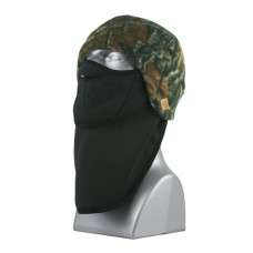 66116  -   CAMO SPORT FLEECE BEANIE FACE MASK