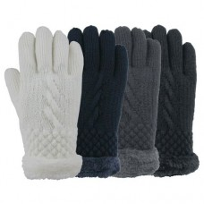 73406  -  FAUX FUR LINED GLOVE
