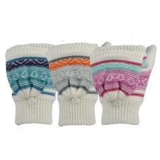 74036   -   LOOP KNIT FAIRISLE GLOMITT