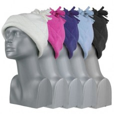 75016  -  DIAMOND FLEECE CUFF HAT