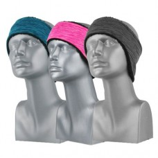 75138  -   MELANGE FLEECE CONTOURED HEADBAND