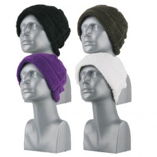 00802   -   BUBBLE FLEECE BEANIE