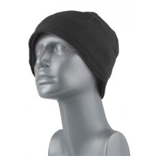 00890B   -   SUPER-SOFT MICROFLEECE BEANIE - BLACK ONLY