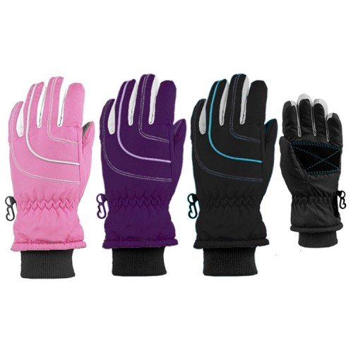 Grand Sierra Girls Ski Gloves with Thinsulate Insulation