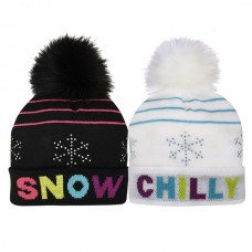 44128 GIRLS SNOWFLAKE HATS