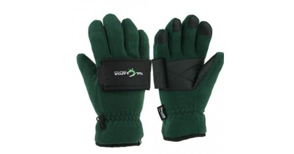 Large Grand Sierra Tailgator Fleece Glove with Beverage Holder Black