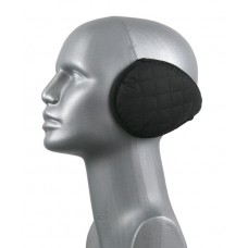 75326  -  QUILTED BACK-WRAP EAR WARMER - BLACK ONLY