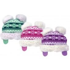 37032  -  GIRLS SNOWFLAKE HAT