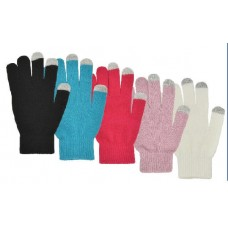 72132   -   TOUCHSCREEN ACRYLIC KNIT STRETCH GLOVE