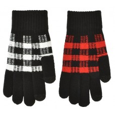 72150   -  PLAID TOUCHSCREEN STRETCH GLOVE
