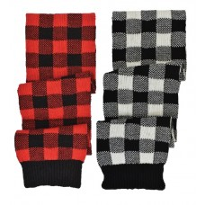 76024   -   PLAID KNIT SCARF