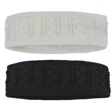 90068  -  CABLE HEADBAND WITH SHERPA LINING
